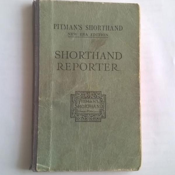 Hylda Whitehead Shorthand Book
