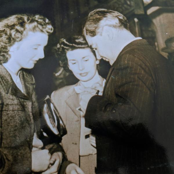 Ruth Edwards meeting Bevan 1948